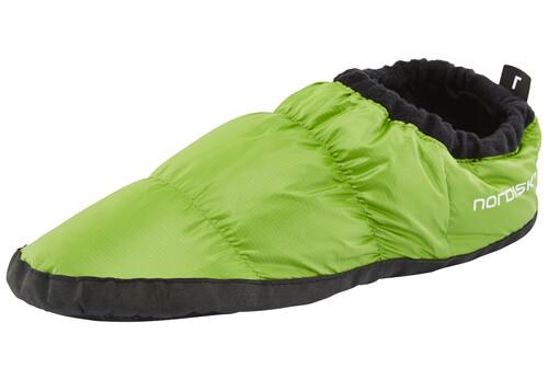 Zapatillas de plumas Nordisk verdes XS 2017 Zapatillas de estar por casa nLKHi